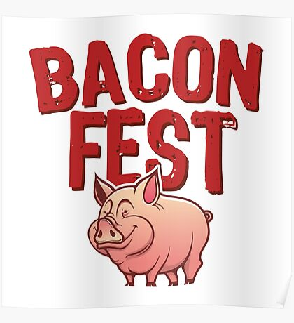 Bacon Fest Poster