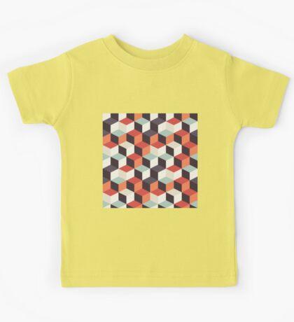Squares 002 Kids Tee