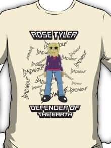 Rose Tyler - Defender of the Earth T-Shirt