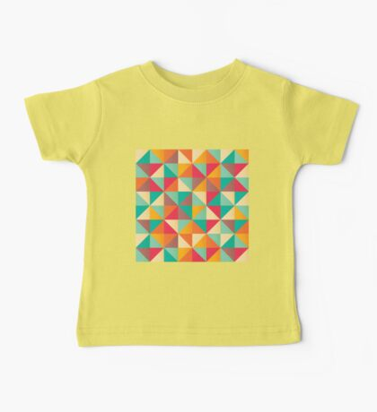 Triangles 001 Baby Tee