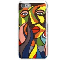 African Traditional Tribal Women Abstract Art Canvas Painting for Women, Girls, Ladies, Kids 3 iPhone Case/Skin