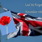 Lest We Forget - November 11th by AnnDixon