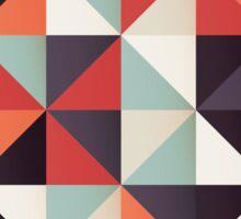 Triangles 004 Sticker