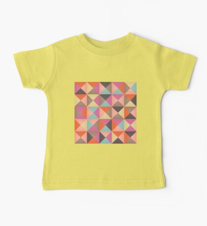 Triangles 005 Baby Tee