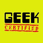 Certified Geek by Becpuss