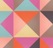 Triangles 005 Sticker