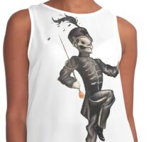 Black Parade Skeleton Contrast Tank