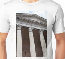 Classical temple with Corinthian columns Unisex T-Shirt