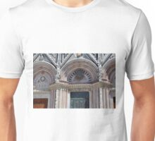 Entrance details of the cathedral of Siena Unisex T-Shirt