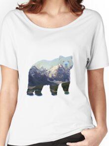 Bear Landscape Women's Relaxed Fit T-Shirt