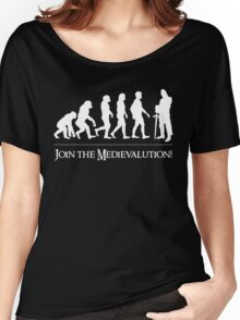 MEDIEVALUTION Women's Relaxed Fit T-Shirt