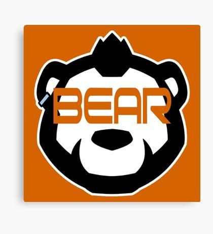 Phenom Bear - Bear Goggles Canvas Print
