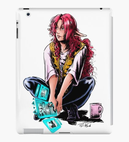 Eowyn construction site iPad Case/Skin