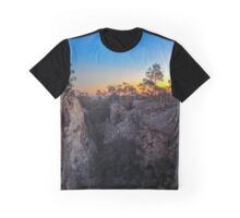 Whroo Sunset Graphic T-Shirt