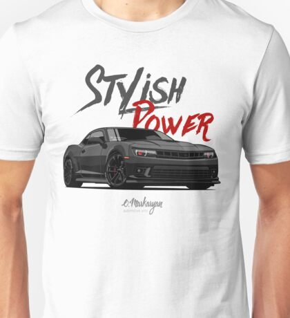 Stylish Power. Chevrolet Camaro SS Unisex T-Shirt