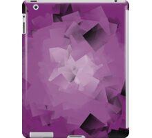 crumpled purple tissue iPad Case/Skin