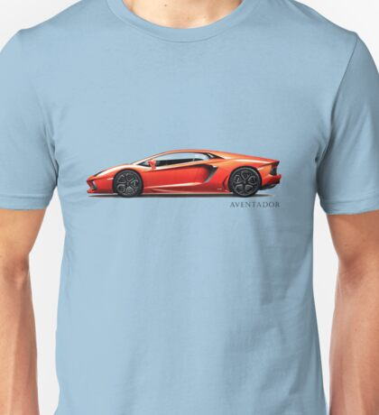 The Fighting Bull Aventador Unisex T-Shirt