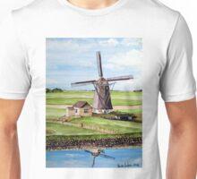 Windmill in Texel Island, Holland Unisex T-Shirt