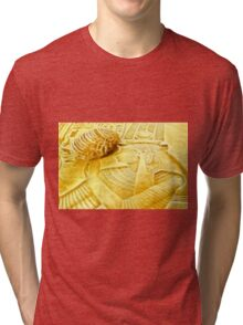 design in style ' travel to Egypt ' Tri-blend T-Shirt