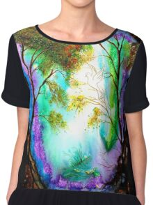 Light in the Darkness Women's Chiffon Top
