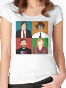 IT Crowd Women's Fitted Scoop T-Shirt