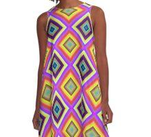 Diamond Design A-Line Dress