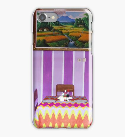 table for 3 iPhone Case/Skin