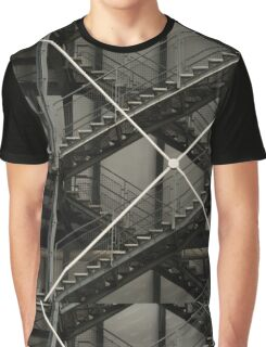 X And Stairs Graphic T-Shirt