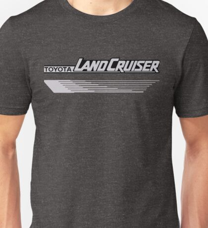 Land Cruiser body art series, grey lines Unisex T-Shirt