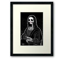 Mona Skullisa Framed Print