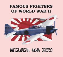 Famous Fighters - A6M Zero Baby Tee