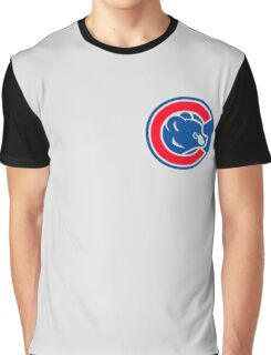 Chicago Cubs Logo HD Graphic T-Shirt