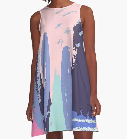 Color Fest 2 A-Line Dress