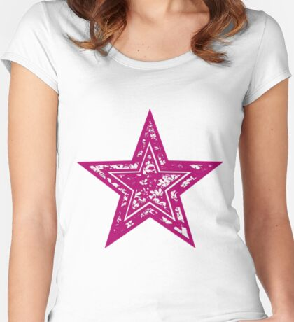 Star Tee Women's Fitted Scoop T-Shirt