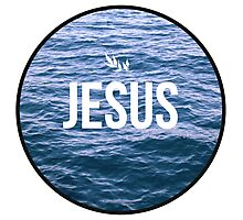 Jesus Photographic Print
