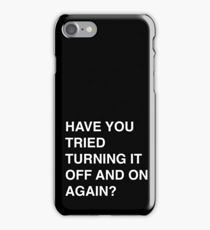 IT solutions iPhone Case/Skin