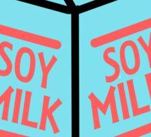 Soy Milk // colour Sticker