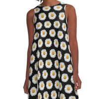Daisies A-Line Dress
