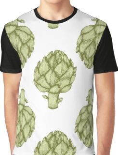 Artichoke Vector hand drawn vector illustration Graphic T-Shirt