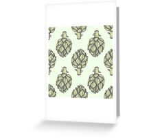 Artichoke Vector hand drawn vector illustration Greeting Card