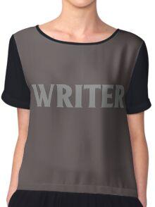 Writer Chiffon Top