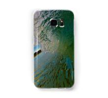clean wave Samsung Galaxy Case/Skin