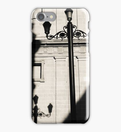 Streetlights shadow iPhone Case/Skin