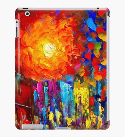 Funky Oil Colours iPad Case/Skin