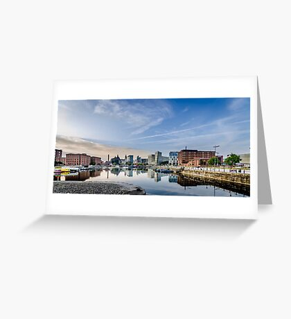 Salthouse Dock Liverpool Greeting Card