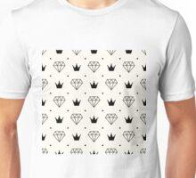 Crown Diamond Unisex T-Shirt