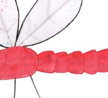 Dragon Fly Valentines/Greetings Card Sticker