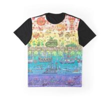 Rainbow Bridge Graphic T-Shirt