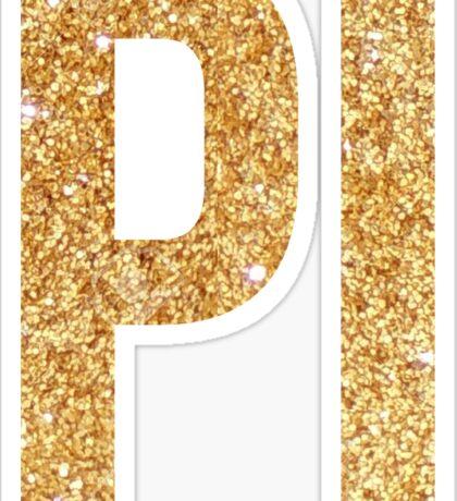 pi gold~~~ Sticker