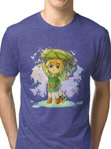 Zelda - Link Tri-blend T-Shirt